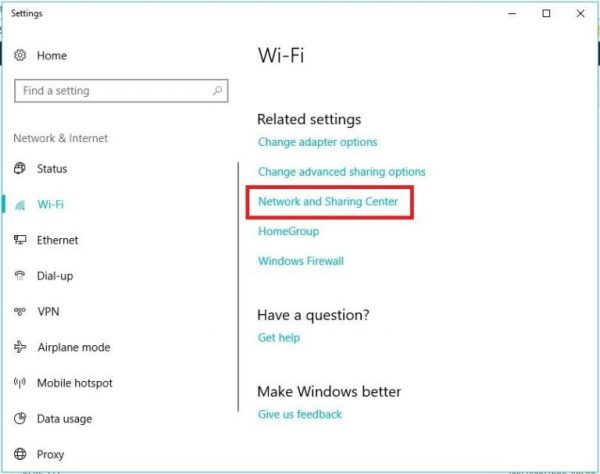 xem pass wifi win 10